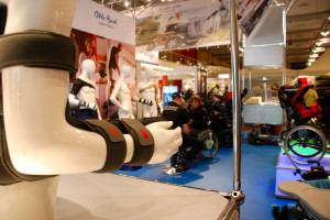 Messestand Otto Bock HealthCare