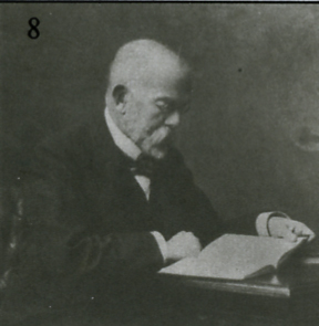 Robert Koch an seinem Schreibtisch