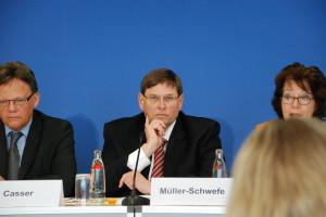 Dr. Gerhard Müller-Schwefe, Präsident der DGS