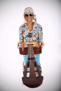 Kate Moss goes Hippie style © Helder Almeida - Fotolia.com
