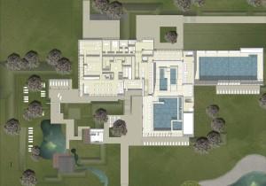 Grundriss der Ebene 1 Badepark Bentheim
