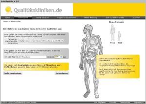 Startseite - Kliniksuche