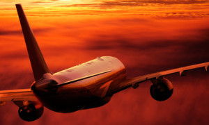 Flugreisen können ebenfalls Stress bedeuten    © Reinhold Föger - Fotolia.com
