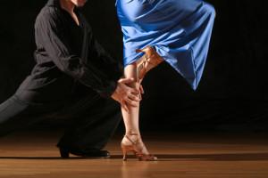 Tänzer beim Tanz