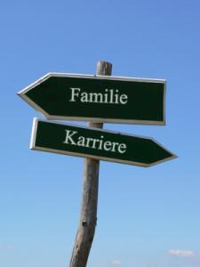 Wegweiser Familie Karriere