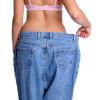 Frau nach Gewichtsabnahme