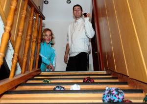 Spiel auf der Treppe  @Septimago