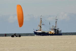 Wind, Meer und Kutter - was für eine Kulisse