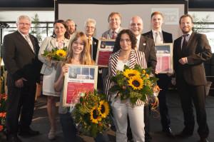 die glücklichen Gewinner des Health Media Award 2012 © HMA 2012