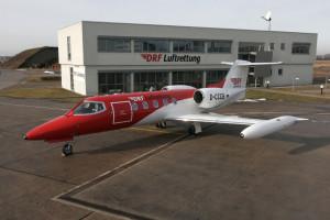 Patiententransport der DRF Luftrettung...