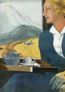 """Werbeplakat """"Die schöne Eisenbahnreise © DB"""
