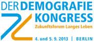 der DEMOGRAFISCHE KONGRESS 2013