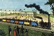 Dampfwagenfahrt von Leipzig nach Dresden