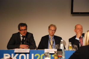 Prof. Dr. Andreas Roth; Dr. Andreas Gassen und Prof. Dr. Karl-Dieter Heller