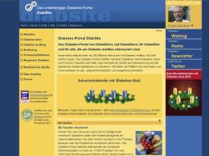 Das unabhängige Diabetes-Portal www.diabsite.de