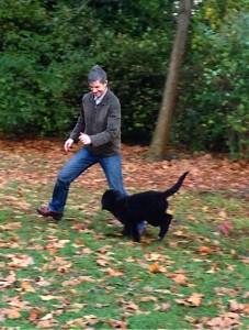 ...Hundebesitzer haben es leichter: Ihr (Sports-)Freund auf vier Pfoten besiegt Ihren inneren Schweinehund, jeden Tag!